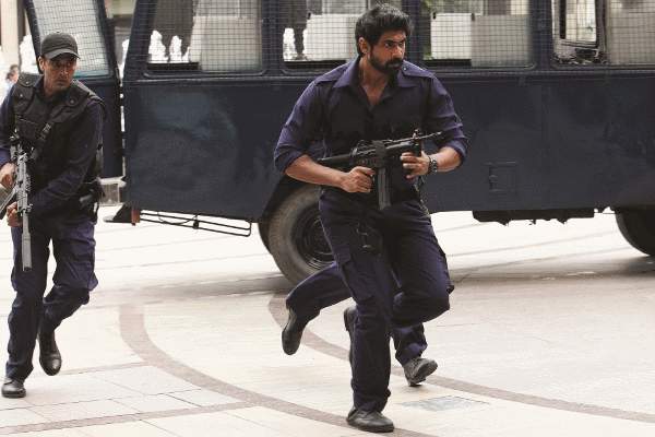 Rana Daggubati wearing a Breitling watch