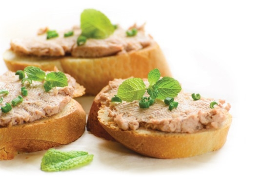 From the bread basket; with dips - by Foodhall