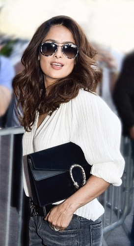 Salma Hayek with Dionysus Bag