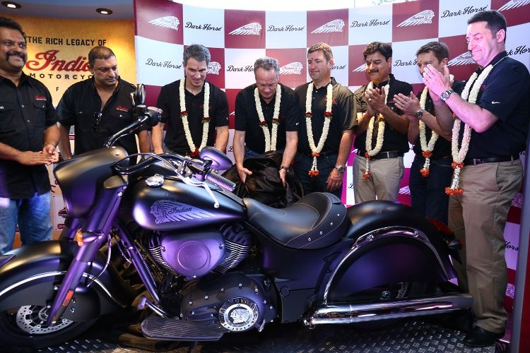 Unveiling Indian® Chief Dark Horse®