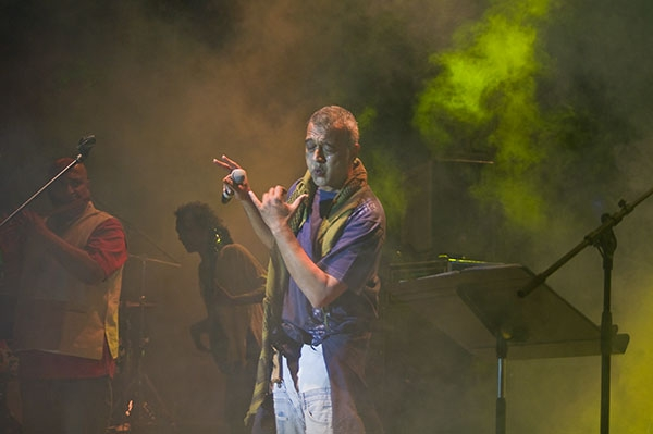 Lucky Ali at the Sula Fest