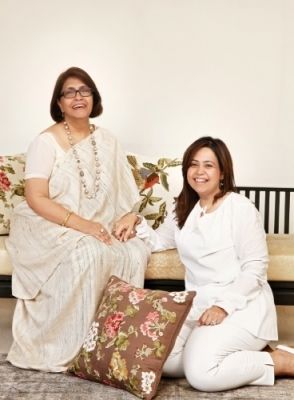 Sarita and Suparna Handa