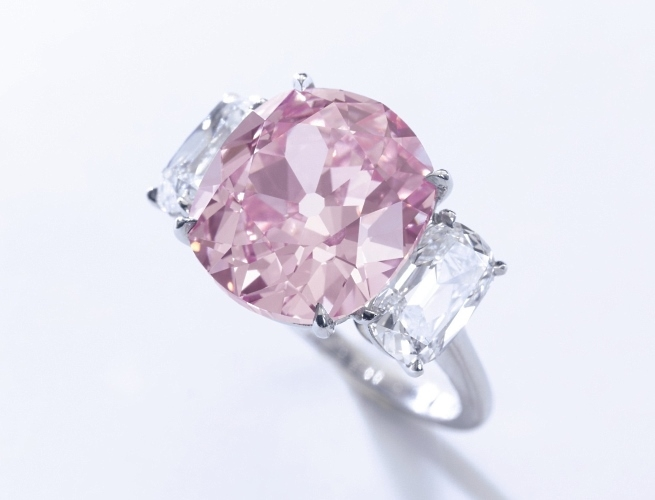 The historic Pink Diamond
