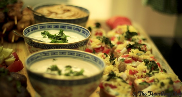 Food by The Travelling Chef. Pic Courtesy Mandappa KC-1