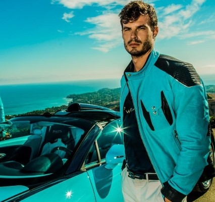 Jacket from Bugatti Legends collection