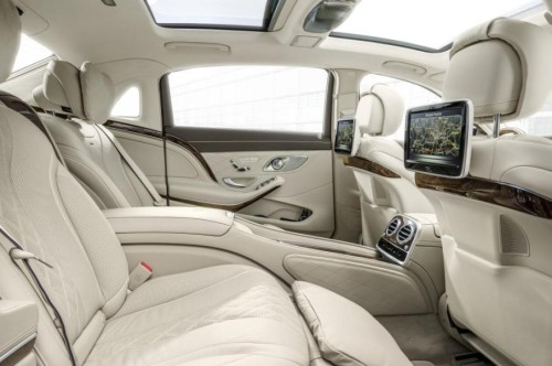 The Mercedes-Maybach has the distinction of being the world's quietest production saloon car.