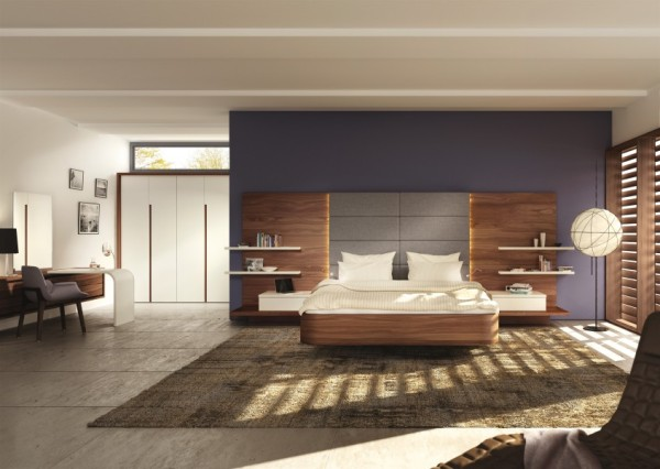 Mioletto is the new highly customisable bedroom range from Hülsta