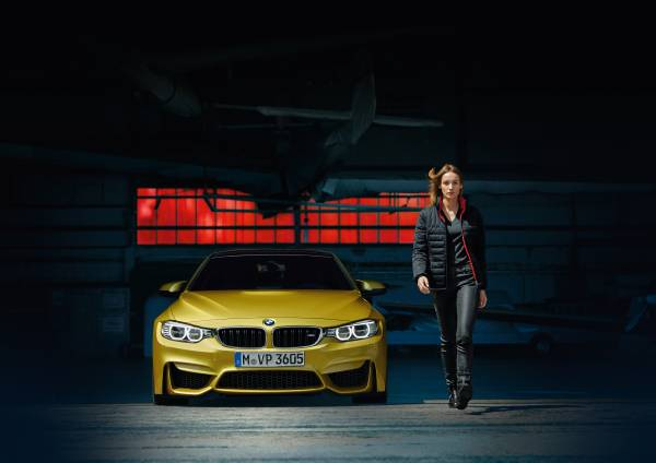 The BMW M Collection reversible down jacket for women
