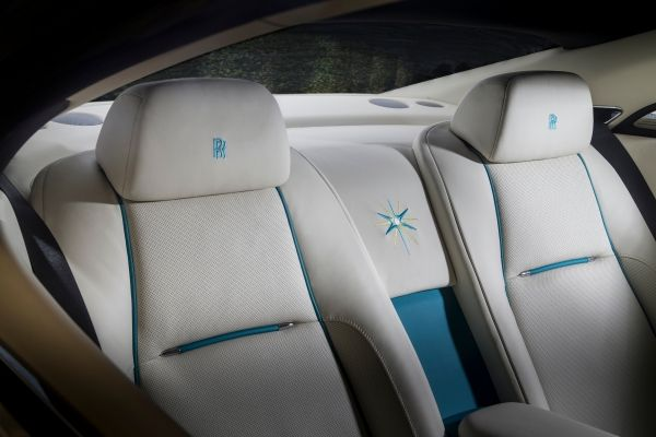 The Suhail star emblem is worked into the interiors