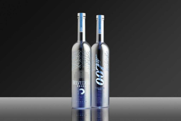 007 Silver Sabre: Limited edition vodka bottles by Belvedere
