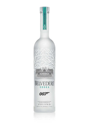 Limited Edition white MI6 bottle by Belvedere