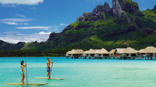 Private jet journeys: Four Seasons Resort Bora Bora