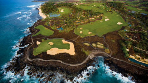 Private jet experiences: Jack Nicklaus signature golf course at Four Seasons Resort Hualalai