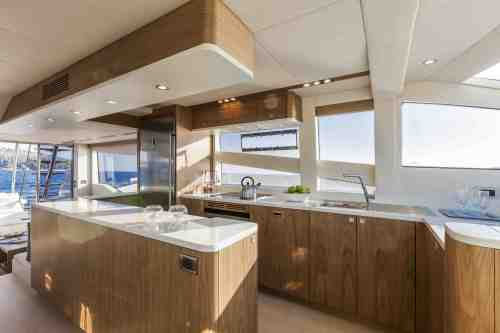 Interiors of Numarine 70 Flybridge