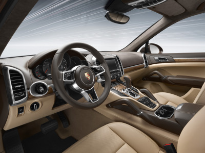 Interiors of Porsche Cayenne