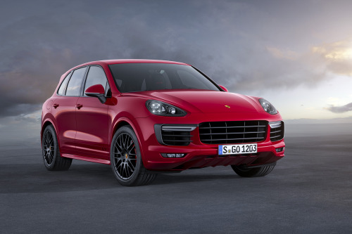 The new Porsche Cayenne GTS
