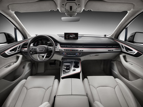 The interiors of  Audi Q7 get a major overhaul after nine years