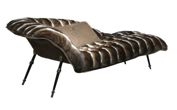 Lounge chairs: Vanity Fair Chaise Longue by Visionnaire