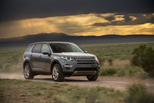The Land Rover Discovery Sport
