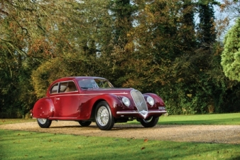The historic Alfa Romeo 6C 2500 Sport Berlinetta. Courtesy of Tom Wood/RM Auctions.