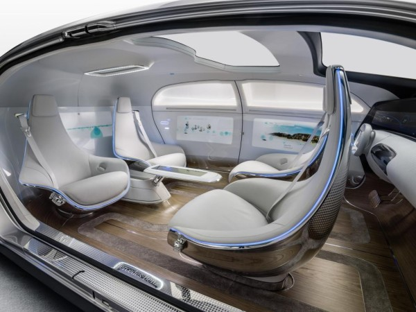 Interiors of F 015 Luxury in Motion