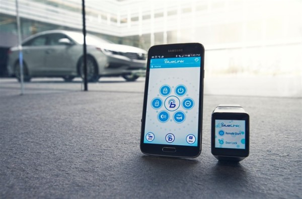 Access Blue Link on your smartwatch and smartphone