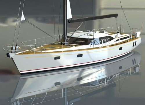 The Discovery 58 Bluewater cruising yacht is premiering at the Dusseldorf Boat Show