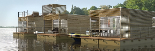 AbiFloat can be expanded horizontally to create guest accommodations, vacation villages or dynamic commercial centers!