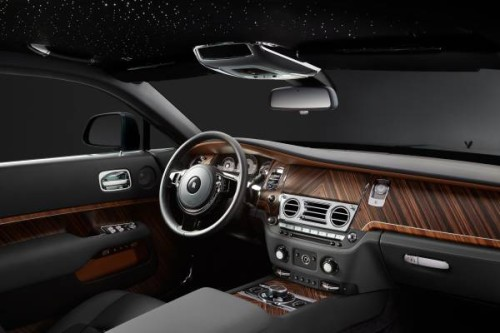 Interiors of the new Wraith 'Inspired by FIlm'