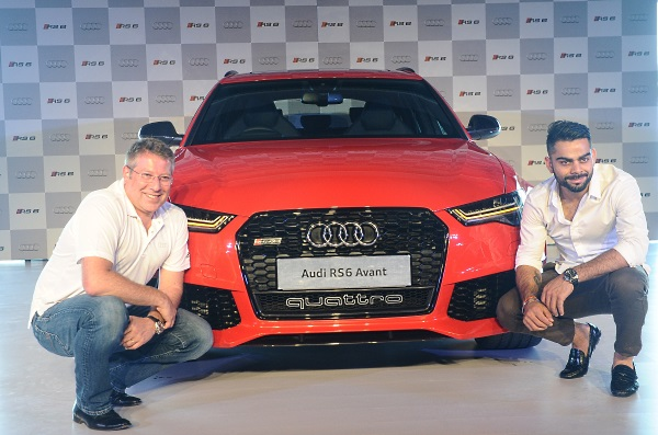 Audi RS 6 Avant unveiled by Joe King and Virat Kohli