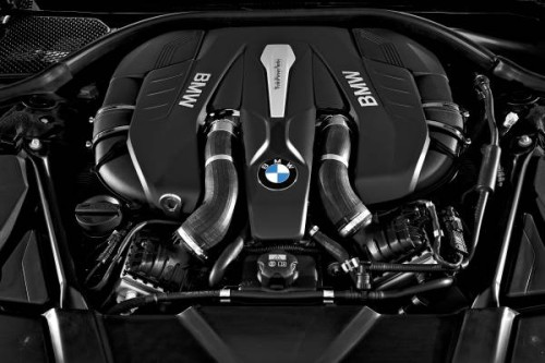 2016 BMW 7 Series 4.4 v8 engine