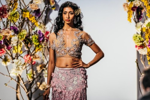 Rina Dhaka's design at BMW India Bridal Week