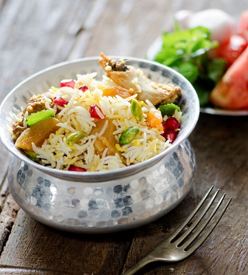 Festive Mutton Biryani from Celebrate Life, Food and Wine'