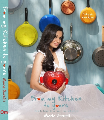Cover of Maria's book 'From My Kitchen to Yours'
