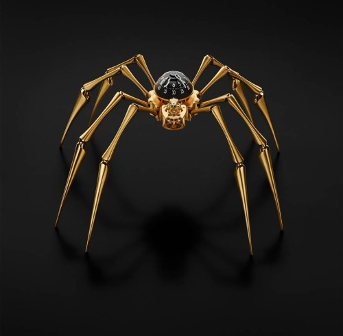 Arachnophobia by MB&F in gold
