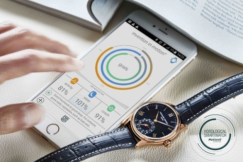 Smart Watches at Baselworld: Horological Smartwatch by Frederique Constant Geneve