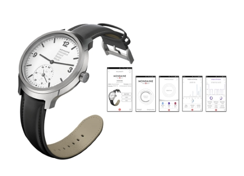Smart watches at Baselworld: Mondaine Helvetica No 1