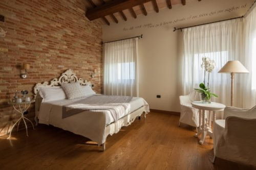 A suite at La Commenda Boutique hotel
