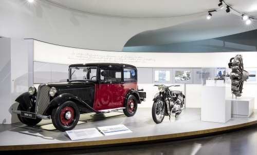 THE NEXT 100 YEARS: Exhibition at the BMW Museum in Munich