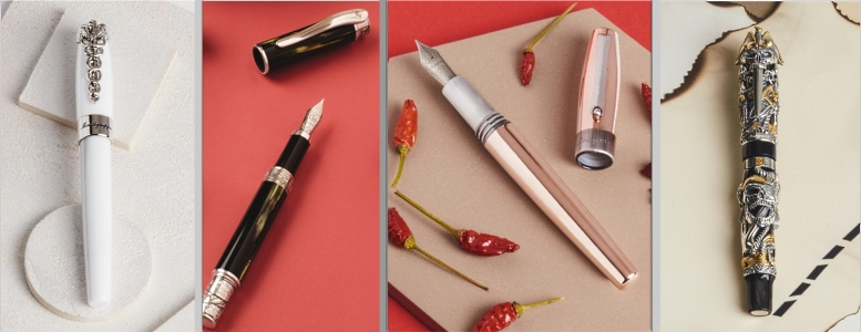 New pens from Montegrappa