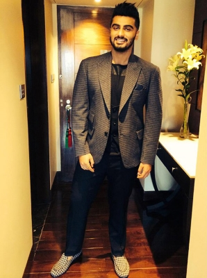 Arjun Kapoor in custom designed loafers by The Shoe Factory