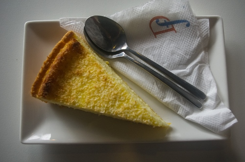 Flan Coco at Délifrance