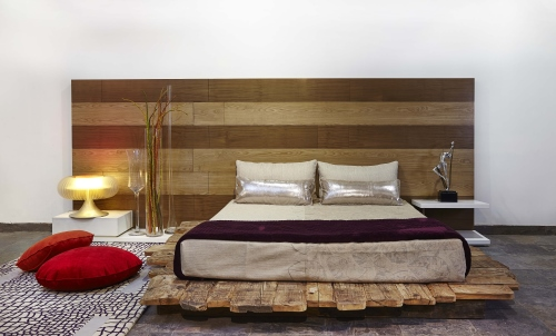 Bed by Designer Punam Kalra