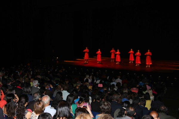 Kumudini Lakhia Troupe's performance at inagural of Namaste France