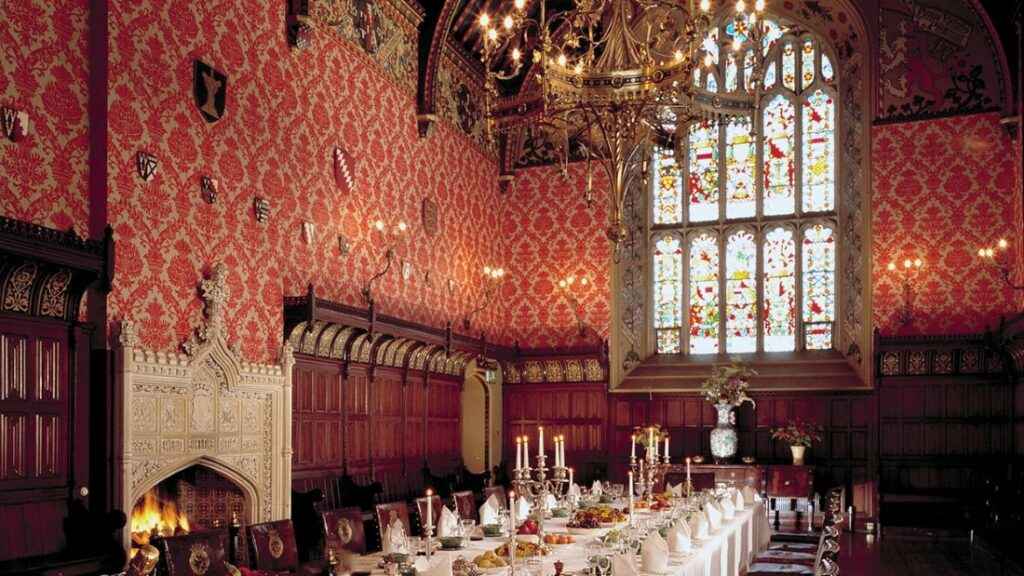 Pugin Banqueting Hall at Lismore Castle, a new addition to Masterpiece Estates by Oetker Collection