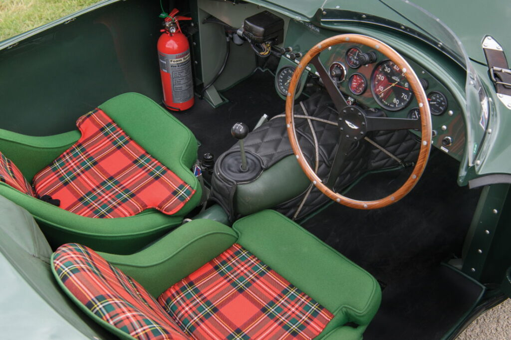 1953 Aston Martin DB3S Works interior (Tim Scott © 2019 Courtesy of RM Sotheby's)