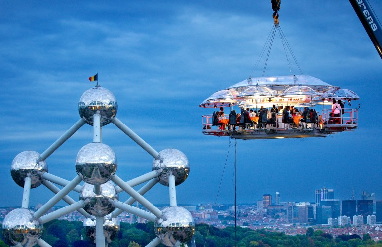 Lounge in the Sky, Brussels, Belgium
