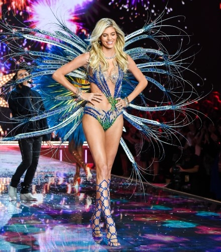 Devon Windor at Victoria's Secret Show