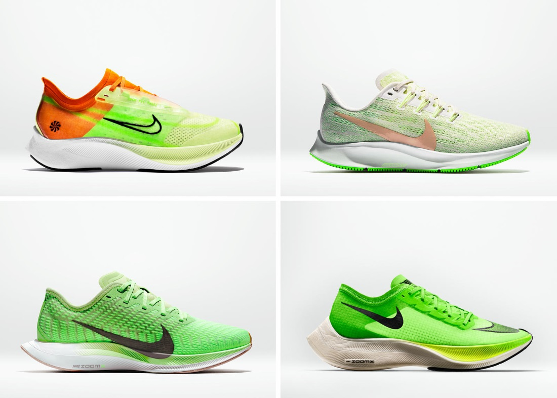 Women's Nike Zoom Fly 3, Women's Nike Air Zoom Pegasus 36, Women's Nike Zoom Pegasus Turbo 2, Nike ZoomX Vaporfly NEXT%